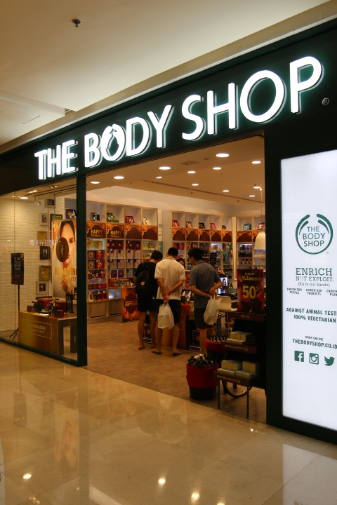 885f31ac The Body Shop - Grand Indonesia