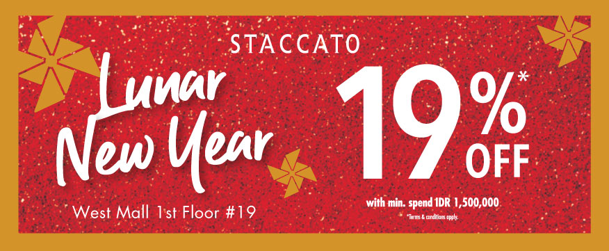 Chinese New Year Promo by STACCATO! - Grand Indonesia b8d7890a46